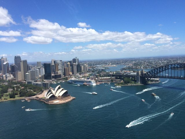 Harbour Bridge, Flight, Opera House, Helicopter, Scenic, Adventure, Gift